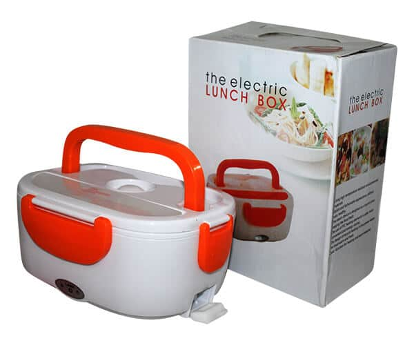 Electronic Heating Lunch Box Portable Tiffin For Car Home Picnic Work